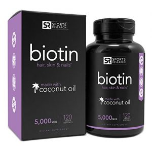 best vitamins for hair growth–biotin